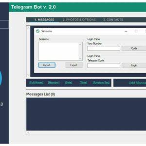 telegram Sender 2020