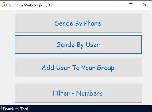 Telegram Marketer Pro